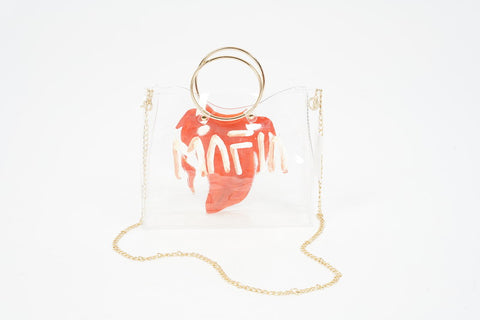 FOREVER FLY JEWEL TRANSPARENT CROSS BAG
