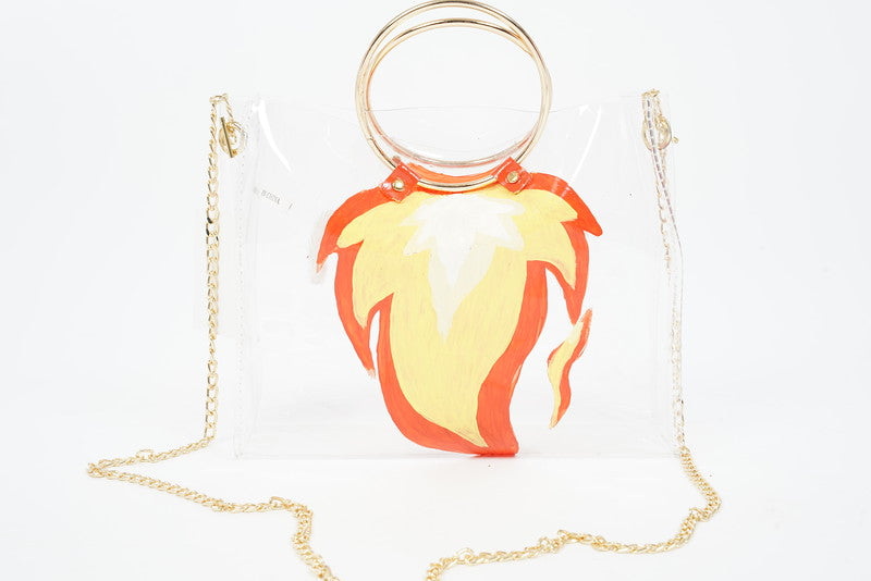 MAFIA CUSTOM FIREBALL TRANSPARENT TOTE