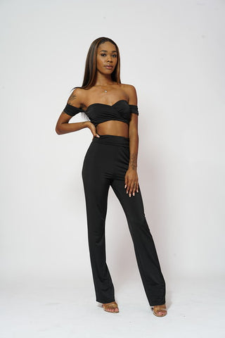 IN LIVING COLOR 2 PIECE PANTS SET
