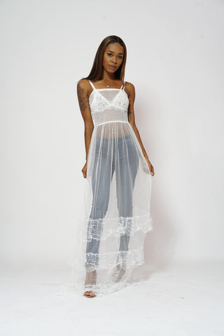 Holographic Tube Dress