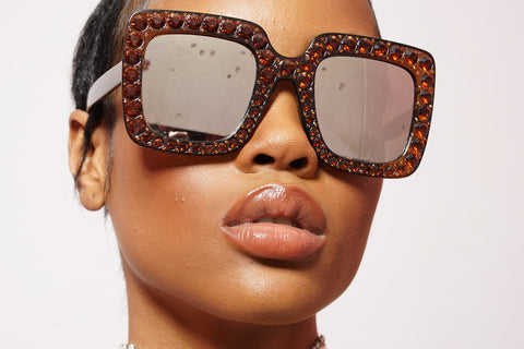 BOSS CHICK COLOR BLOCK SHADES
