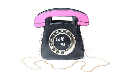 Telephone Call Me Purse