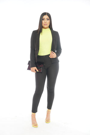 Business Black Suit Set