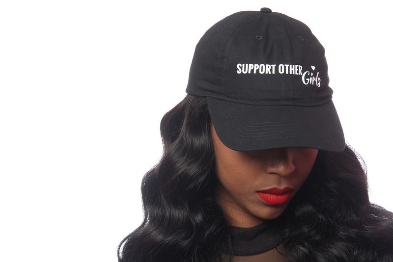 SUPPORTING OTHER GIRLS BLACK HAT