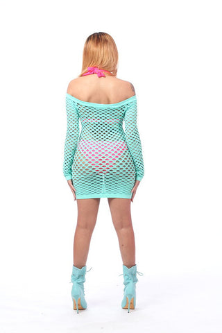 Fancy Fishnet Dress