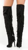 KARA FRINGE THIGH HIGH BOOT