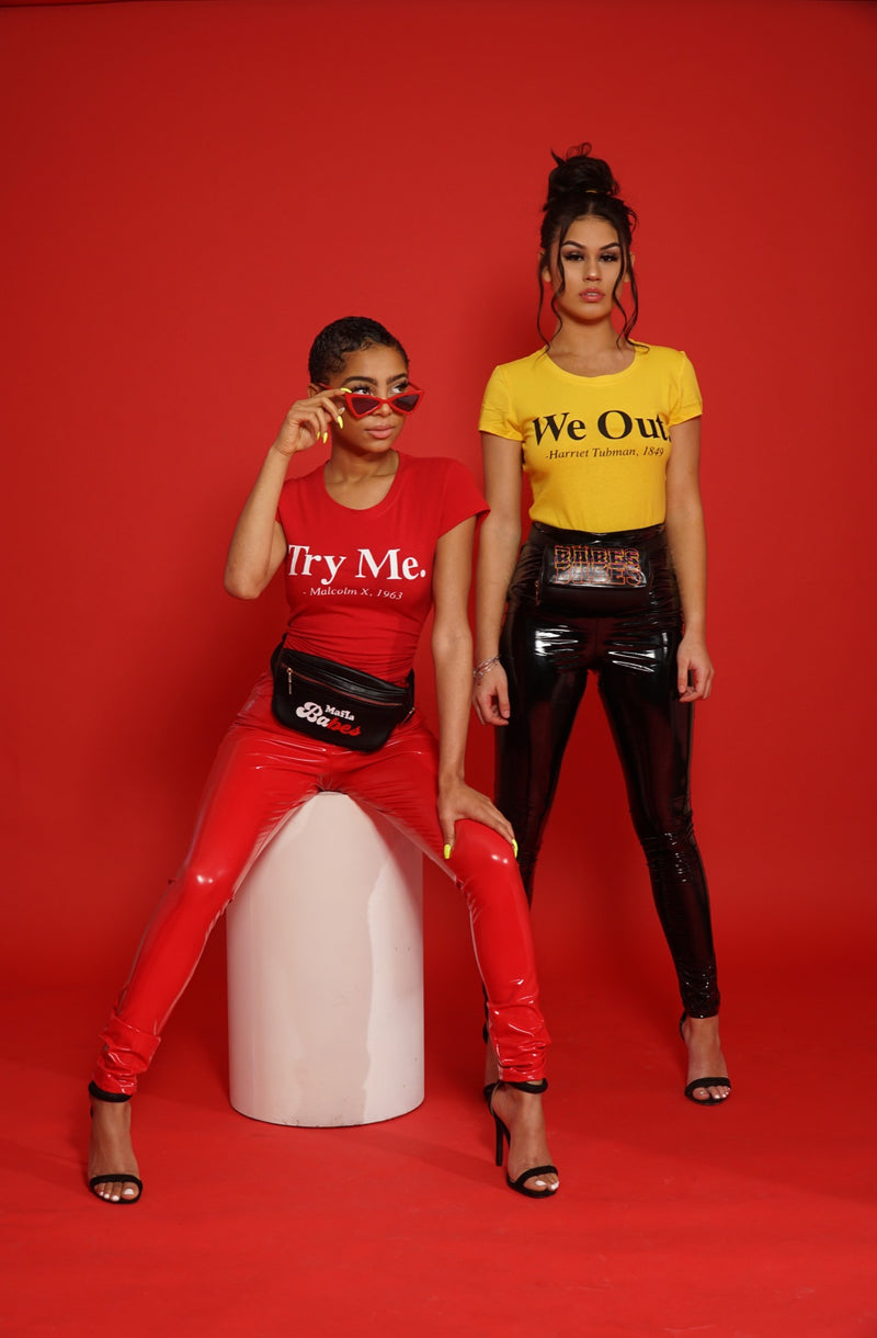 Try me Tshirt (Red)