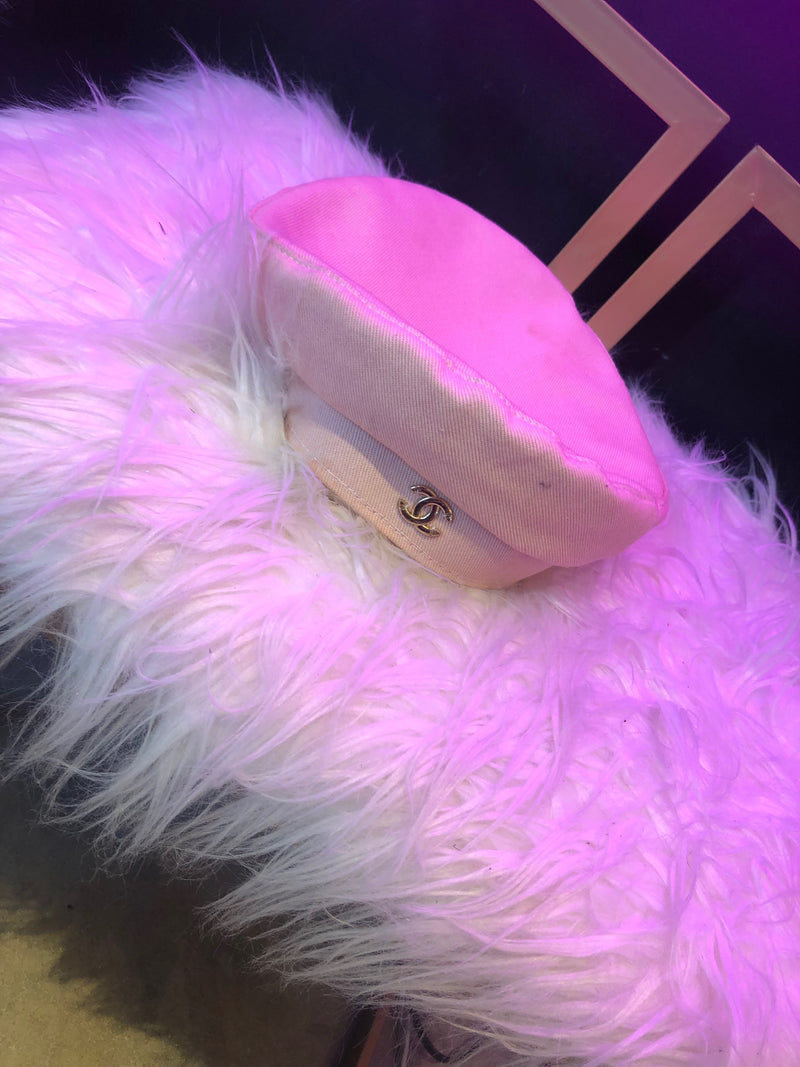 Chanel Hat (Pink)