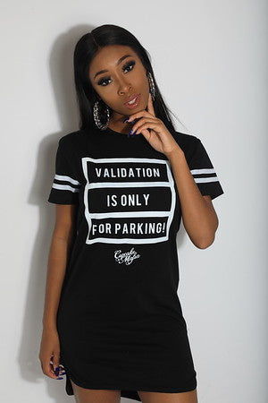 VALIDATION IS FOR PARKING TSHIRT