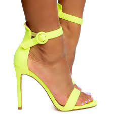 Neon yellow Simple Heel