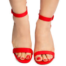 Red Simple Heel