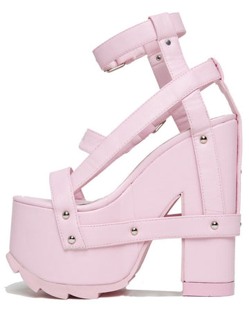 YRU Pink NightCall Party Platforms