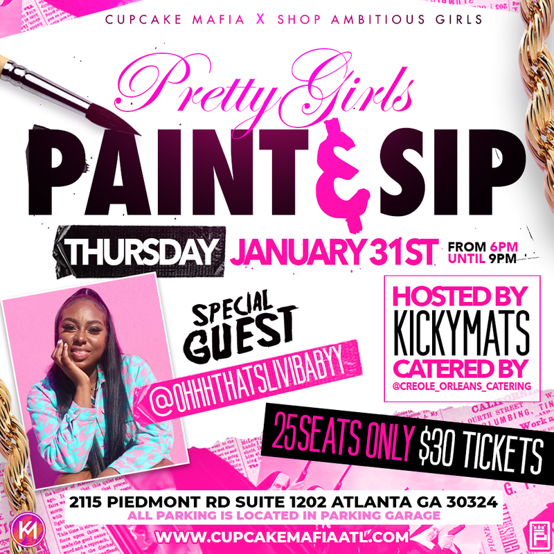 Pretty Girls Paint and Sip