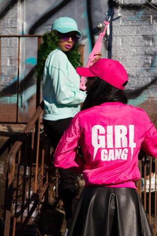 Girl gang flight jacket