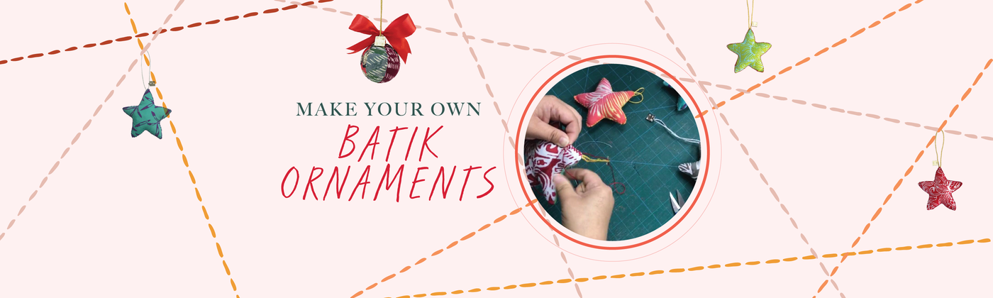 Make Your Own Batik Ornaments