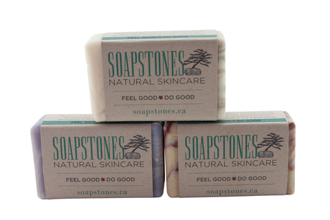 Soapstones Bar Soap - 120 gram bar
