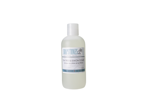 Soapstones Facial Toner Lemon & Tea Tree - 250 ml.