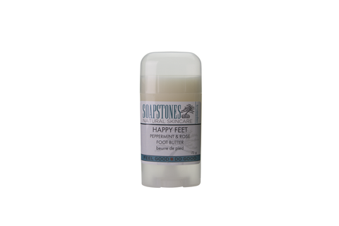 Soapstones Peppermint & Rose Foot Butter - 75 grams