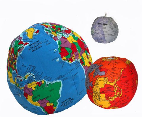 Hugg-A-Planet ISS Bundle, Pocket Earth, Moon, and Mars 3 Piece Set - Hugg-A-Planet