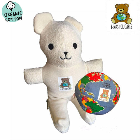 "Bears for Cares extras- Bear, 6"" Hugg-A-Planet®, or both - Hugg-A-Planet"
