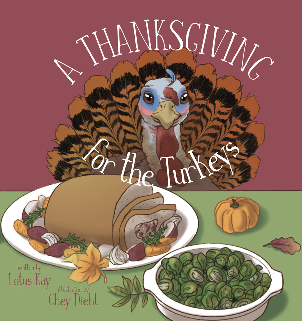 "Bears for Cares ""A Thanksgiving For the Turkeys"" Book Only"