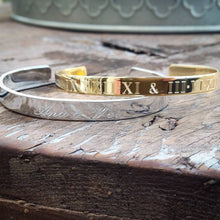 "Engraved 1/4"" Cuff"