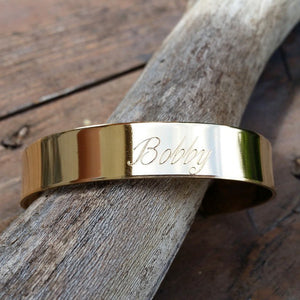 "Engraved 1/2"" Cuff"
