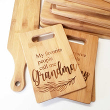 My Favorite People Cutting Board