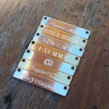 Classic Engraved Bar Necklace