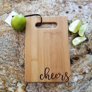 Cheers Cutting Board