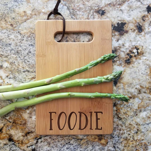 Foodie Cutting Board