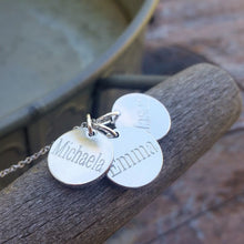 Classic Engraved Names Necklace