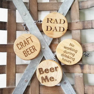 Wood Bottle Opener Magnets