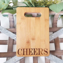 Cheers (block) Cutting Board