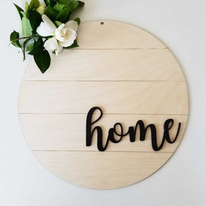 Shiplap Round - Home