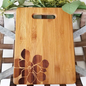 Succulent Cutting Board