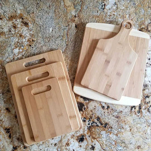 Names and Date Cutting Board
