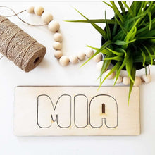 Custom Name Wooden Puzzle