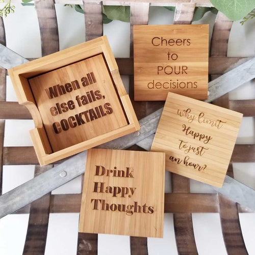 Drinking Coaster Set