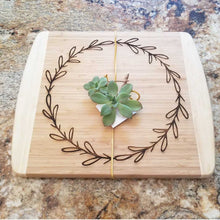 Wreath Cutting Board