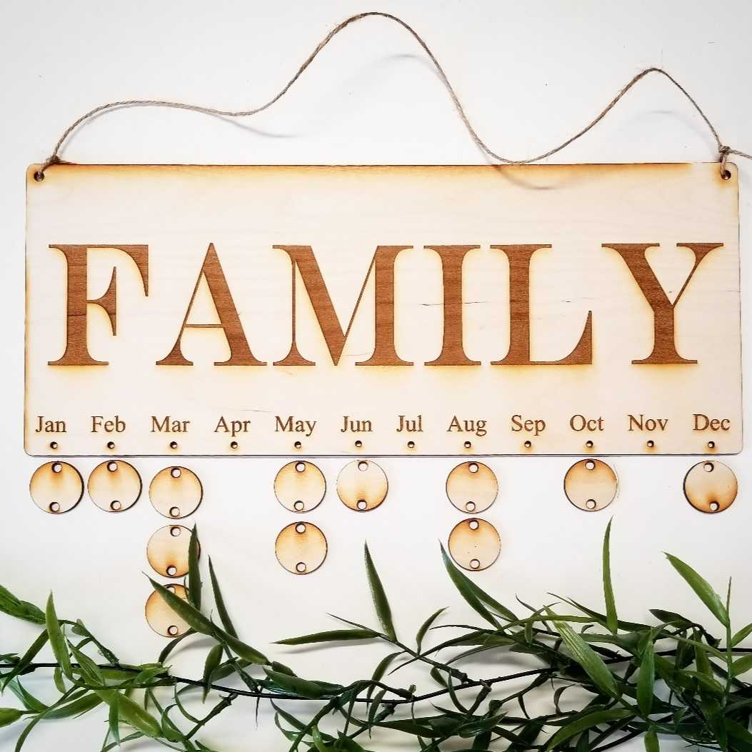 Family Dates Board