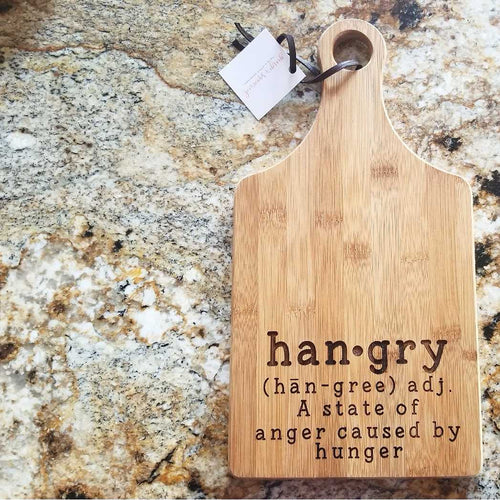 Hangry Cutting Board