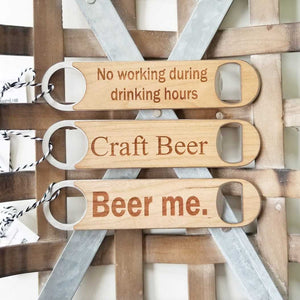 Barback Bottle Openers