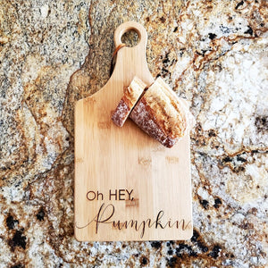 Cutting Board - Oh Hey, Pumpkin