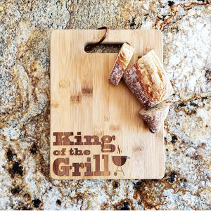 Cutting Board - King of the Grill