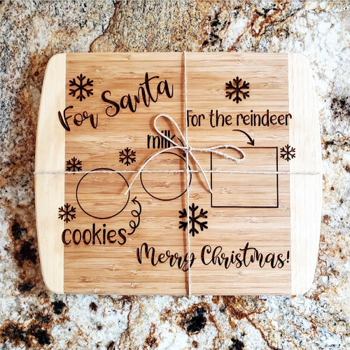 Cookies For Santa Cutting Board