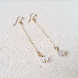 Herkimer Drop Earrings