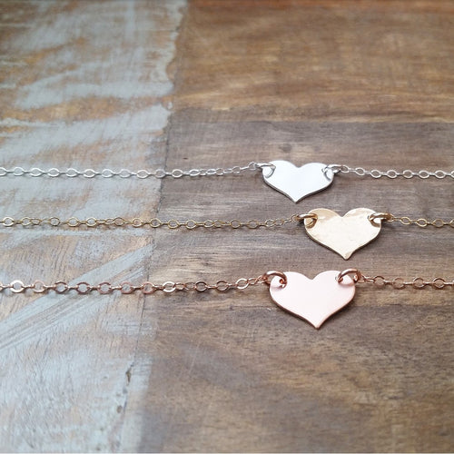 Solid Heart Necklace