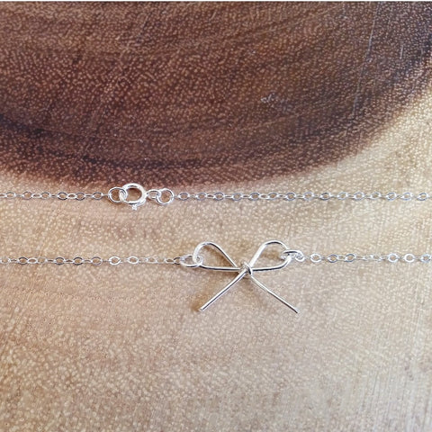 Bow Necklace / Bracelet
