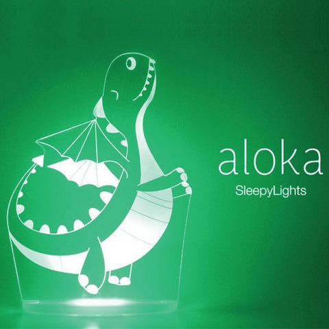Aloka Dinosaur Sleepy Light